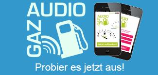 audioGAZ Live Demo verfügbar